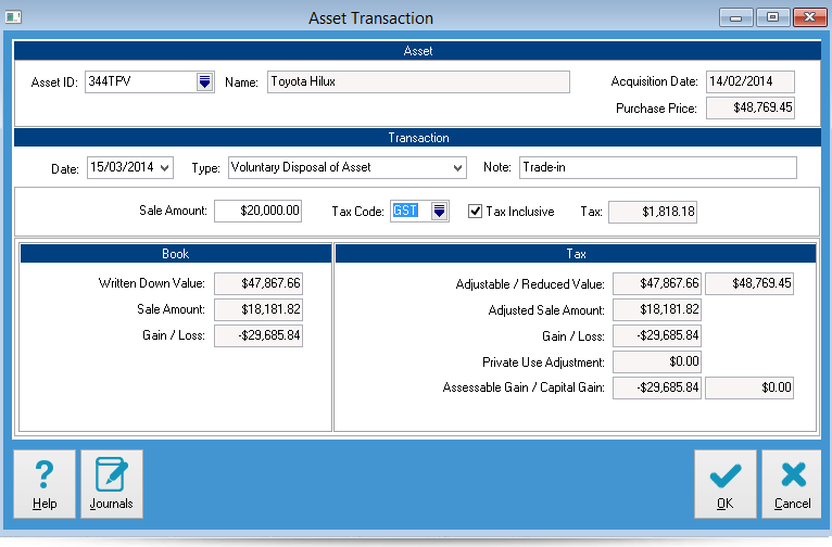 AssetManager Pro Asset Management and Depreciation Features